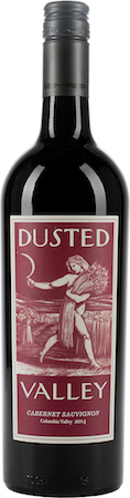 dusted valley vintners cabernet sauvignon 2014 bottle - Dusted Valley Vintners 2014 Cabernet Sauvignon, Columbia Valley, $42