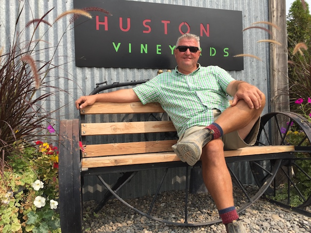 gregg alger huston vineyards 2018 - Fujishin, Lost West Winery use Riesling to top 2018 Idaho Wine Competition