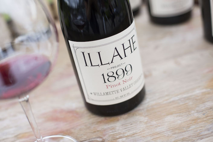 illahe vineyards 1899 project bottle - Illahe Vineyards goes canoe for Pinot Noir delivery to PDX