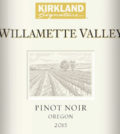 kirkland signature pinot noir oregon 2015.label  120x134 - Kirkland Signature Series 2015 Pinot Noir, Willamette Valley, $15