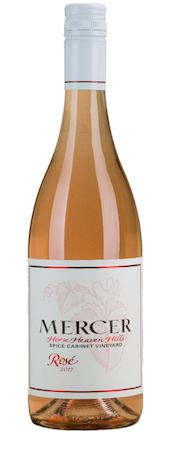 mercer estates spice cabinet vineyard rose 2017 bottle 1 - Mercer Estates 2017 Spice Cabinet Vineyard Rosé, Horse Heaven Hills, $13