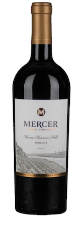 mercer family vineyards merlot 2016 bottle 1 - Mercer Family Vineyards 2016 Merlot, Horse Heaven Hills, $17