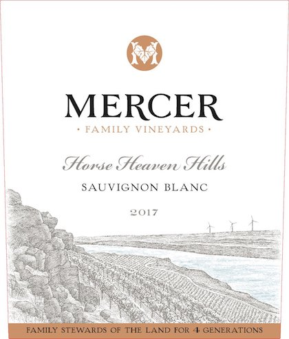 mercer-family-vineyards-sauvignon-blanc-2017-label