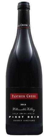 panther creek cellars carter vineyard pinot noir 2015 bottle - Panther Creek Cellars 2015 Carter Vineyard Pinot Noir, Eola-Amity Hills, $65