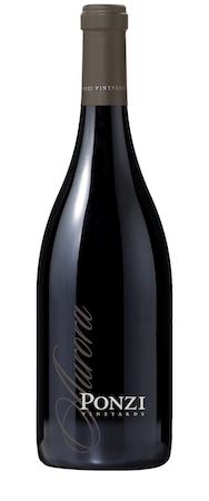 Ponzi Vineyards 2015 Aurora Pinot Noir bottle