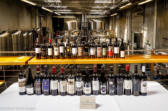 private barrel auction lot 1 winemakers 5 case lot - Private Barrel Auction raises $251,500 for Washington State University wine program