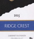 ridge crest white bluffs vineyard cabernet sauvignon 2015 label 120x134 - Ridge Crest 2015 White Bluffs Vineyard Cabernet Sauvignon, Columbia Valley, $14