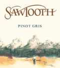 sawtooth winery pinot gris nv label 120x134 - Sawtooth Winery 2017 Pinot Gris, American, $13
