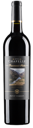 ste chapelle panoramic series petit verdot nv bottle - Ste. Chapelle 2015 Panoramic Series Petit Verdot, Snake River Valley, $28