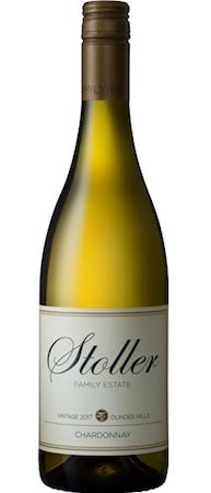 stoller family estate chardonnay 2017 bottle - Stoller Family Estate 2017 Chardonnay, Dundee Hills, $25
