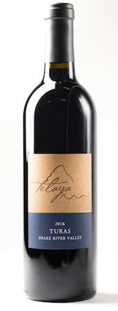 telaya wine company turas red wine 2016 bottle - Telaya Wine Co. 2016 Turas Red Blend, Snake River Valley, $32