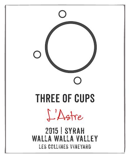 three-of-cups-les-collines-vineyard-l-astre-syrah-2015-label