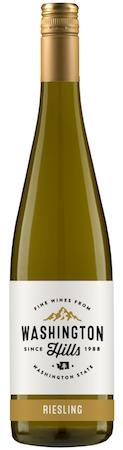 washington hills riesling nv bottle - Washington Hills Winery 2016 Riesling, Washington, $11