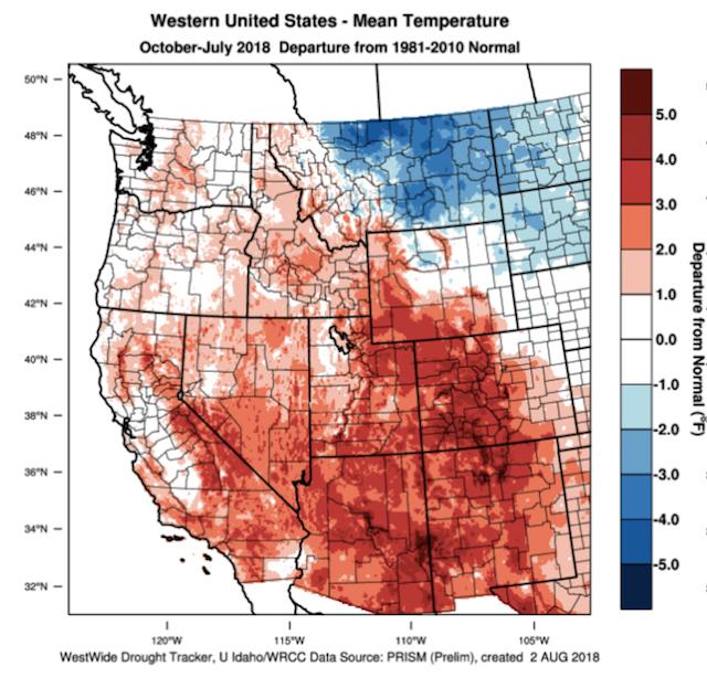 2018 heat units tracking near 2014 vintage for northwest wine