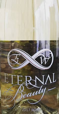 eternal wines beauty rose 2017 bottle - Eternal Wines 2017 Beauty Rosé, Columbia Valley, $21