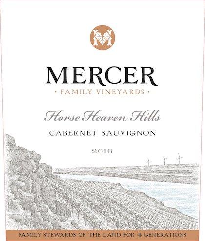 mercer-family-vineyards-cabernet-sauvignon-2016-label