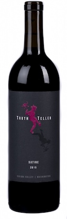truth teller winery satire 2015 bottle - Truth Teller Winery 2015 Satire Red Wine, Yakima Valley, $25