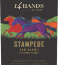 14 hands winery stampede red blend nv label 120x134 - 14 Hands Winery 2014 Stampede Red Blend, Columbia Valley, $12