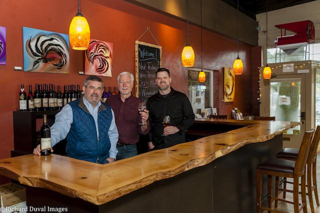 burnt bridge cellars team - Gehringer tops Great Northwest Invitational Wine Competition again