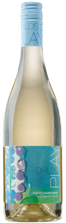childs play pinot chardonnay nv bottle - Child's Play by Tendril Wines 2017 Pinot Chardonnay, Willamette Valley, $30