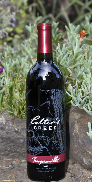 colters creek tempranillo 2015 GNI bottle - Colter's Creek Winery 2015 Tempranillo, Lewis-Clark Valley $20