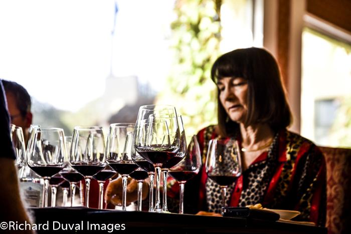 ellen landis 2018 judging - Gehringer tops Great Northwest Invitational Wine Competition again
