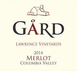 Gård Vintners 2014 Lawrence Vineyards Merlot, Columbia Valley, $35 - Great Northwest Wine