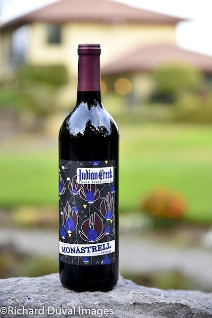 indian creek winery monastrell 2016 GNI 2018 bottle - Indian Creek Winery 2016 Reserve Monastrell, Snake River Valley, $28