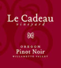 le cadeau vineyard pinot noir nv label 120x134 - Le Cadeau Vineyard 2016 Pinot Noir, Willamette Valley, $35
