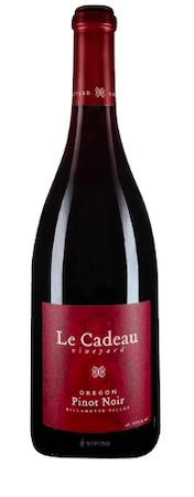 le cadeau vineyard red label pinot noir nv bottle - Le Cadeau Vineyard 2016 Pinot Noir, Willamette Valley, $35