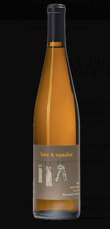 love and squalor antsy pants riesling 2013 bottle - Love & Squalor 2013 Antsy Pants Riesling, Willamette Valley, $28