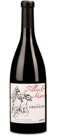 love that red winery riviere galets vineyard fillies mares grenache 2015 bottle - Love That Red Winery 2015 Riviere Galets Vineyard Fillies & Mares Grenache, The Rocks District of Milton-Freewater, $50