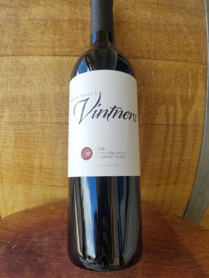 walla walla vintners cabernet franc 2016 bottle e1539708868454 - Walla Walla Vintners 2016 Cabernet Franc, Columbia Valley, $35