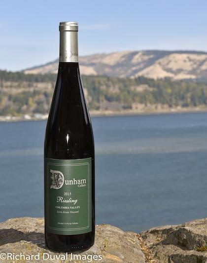 dunham cellars lewis estate vineyard riesling 2015 bottle gni - Dunham Cellars 2015 Lewis Estate Vineyard Riesling, Columbia Valley, $19.50