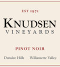 knudsen vineyards pinot noir nv label 1 120x134 - Knudsen Vineyards 2016 Pinot Noir, Dundee Hills, $55