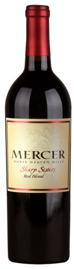 mercer estates sharp sisters red blend nv bottle 1 - Mercer Estates 2016 Sharp Sisters Red Blend, Horse Heaven Hills, $20