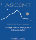 stemilt creek ascent cabernet sauvignon 2014 label 120x134 - Stemilt Creek Winery 2014 Ascent Cabernet Sauvignon, Columbia Valley, $48