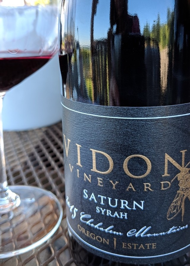 Vidon Vineyard 2015 Estate Saturn Syrah