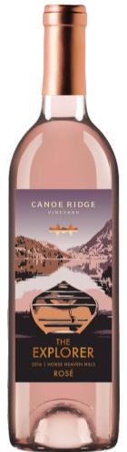 canoe ridge vineyard explorer rose 2017 bottle - Canoe Ridge Vineyard 2017 The Explorer Rosé, Horse Heaven Hills, $16