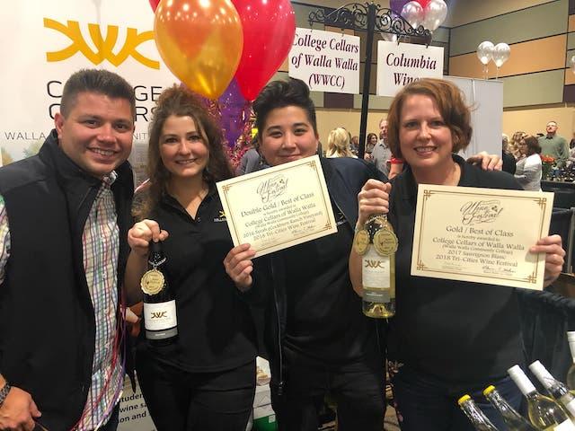 college cellars 2018 tri cities wine festival courtesy joel perez - College Cellars of Walla Walla again tops Tri-Cities Wine Festival judging