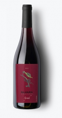 silvara vineyards syrah 2015 bottle - Silvara Vineyards 2015 Syrah, Columbia Valley $32