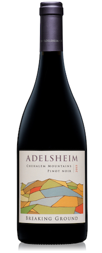 adelsheim breaking ground pinot noir 2015 bottle - Adelsheim Vineyard 2015 Breaking Ground Pinot Noir, Chehalem Mountains $45