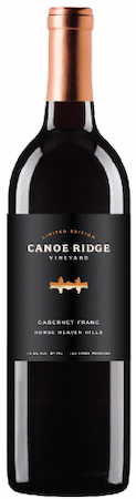 canoe ridge vineyard limited edition cabernet franc 2015 bottle - Canoe Ridge Vineyard 2015 Limited Edition Cabernet Franc, Horse Heaven Hills, $42