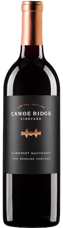 canoe ridge vineyard the benches vineyard limited edition cabernet sauvignon nv bottle - Canoe Ridge Vineyard 2015 The Benches Vineyard Limited Edition Cabernet Sauvignon, Horse Heaven Hills, $44
