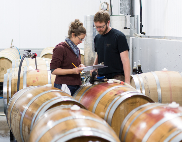 christina peet aaron peet cellardoor winery - Alumni, College Cellars of Walla Walla rock San Francisco Chronicle Wine Competition
