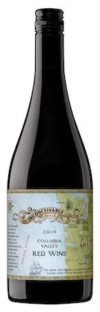 inconceivable wine red wine 2014 bottle - Inconceivable Wines 2014 Red Wine, Columbia Valley, $25