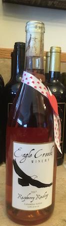 Eagle creek raspberry riesling - Eagle Creek Winery NV Raspberry Riesling, Washington, $18