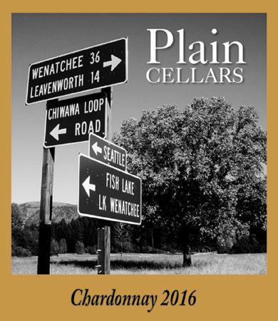 Plain chardonnay e1550193935691 - Plain Cellars 2016 Chardonnay, Ancient Lakes of Columbia Valley, $26