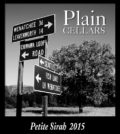 Plain pete sirah 120x134 - Plain Cellars 2015 Petite Sirah, Yakima Valley, $35