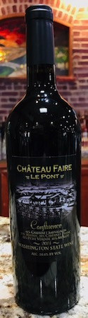 fair le pont confluence - Chateau Faire Le Pont Winery 2014 Confluence, Washington, $46